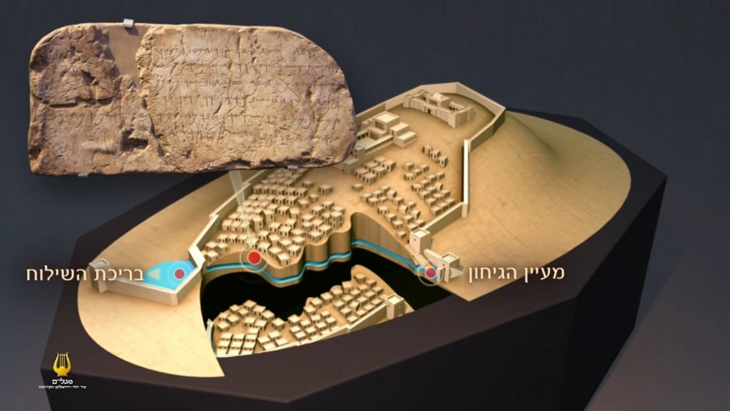 Computervisualisierung der Jerusalemer Davidsstadt